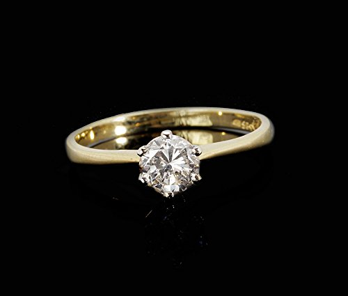 Diamond Ring 0.40 ct-solitaire engagement ring-wedding band-promise ring-Bridal Jeweler-Wedding & Engagement-promise ring for her