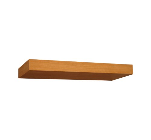 "Creative Connectors Silhouette Floating Wall Shelf (Maple, 14"")"