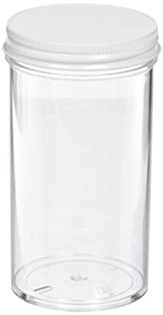 69ffbd6cac26 School Speciality Plastic Jar with Lids, 250mL Capacity (Set of 8)