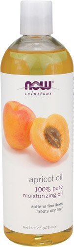 NOW Foods Apricot Kernel Oil (Liquid), 16 oz (Pack of 2)