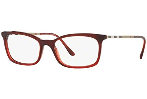 ed2a2daea640 Burberry Women s BE2243Q Eyeglasses Boredaux Gradient 53mm at Amazon ...
