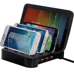 Charger Universal Docking Smartphones Tablets