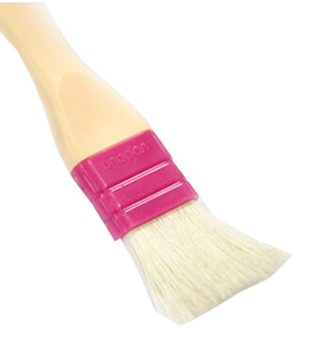 Fleece Kitchen Plastic Handle Basting Baking Pastry Brush, 17.5cm2.5cm3.5cm by Panda Superstore