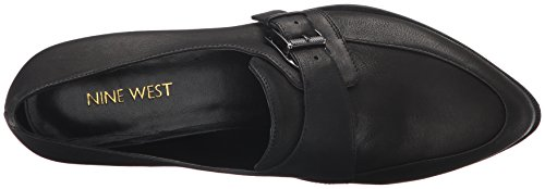 Nine West Frauen Norella Leder Loafers Black