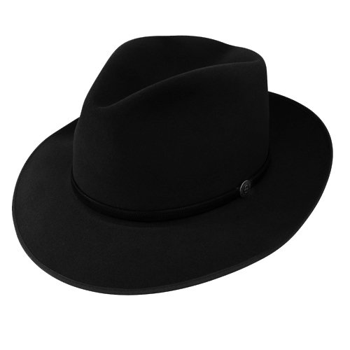 5c2f35621 Stetson Roadster Fedora Hat-BLA-71_2