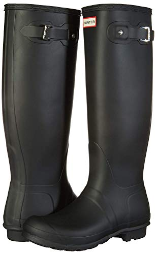 Hunter Women's Original Tall Snow Boot (8 M US, Black/Matt)