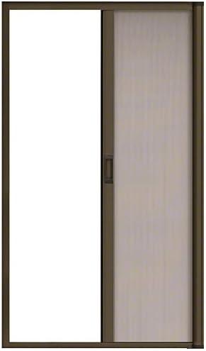 """ES88BRZ CRL Bronze 84/"""" Euro Retractable Screen Door Kit"""
