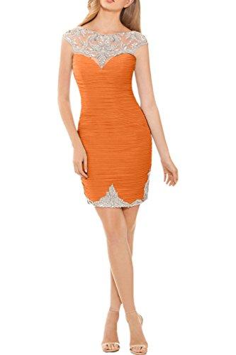 Promgirl House - Robe - Crayon - Femme -  orange - 42