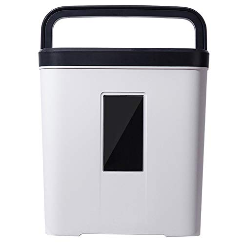 (Mini Portable Office Household Shredder, 12l Large Capacity, Document Shredder, Electric Strip Level 4 Confidentiality, 5 Sheets in A Single Feed)