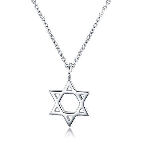 Jewish Star Pendant - 1