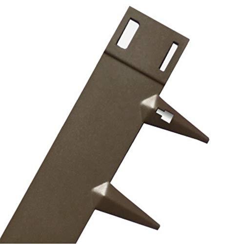Bordes para jardín Core Edge de acero flexible (5 unidades por ...