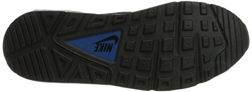 Nike Men's Nike Air Max Command Shoe, Zapatillas Deportivas para Interior para Hombre Gris (Pure Platinum/black/industrial Blue)