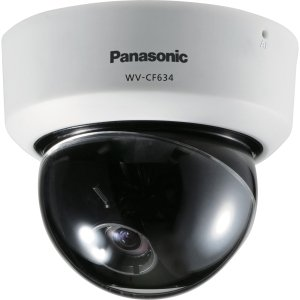 Panasonic Super Dynamic 6 WV-CF634 Surveillance Camera - Color, Monochrome - 3.6x Optical - CCD - Cable - WVCF634 by Generic