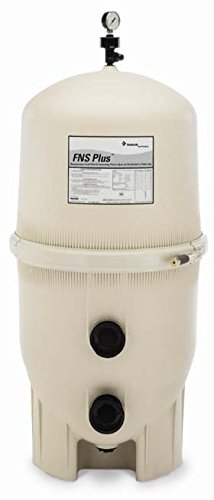 Pentair 180009 FNS Plus Fiberglass Reinforced Polypropylene Material, Vertical Grid, D.E. Pool Filter, 60 Square Feet, 120 GPM Diatomaceous Earth Filter Cleaning