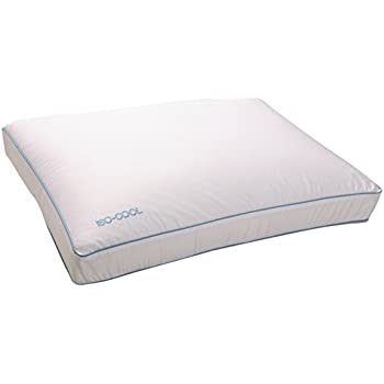 Amazon.com: Iso-Cool Memory Foam Pillow, Gusseted Side Sleeper ,Standard: Home & Kitchen