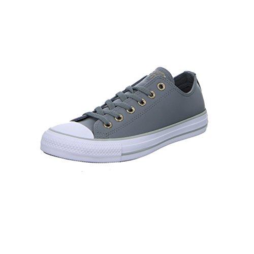 Converse Women's Chuck Taylor CTAS Ox Synthetic Fitness Shoes Grey (Mason/White/Mouse 048) v4GgP8