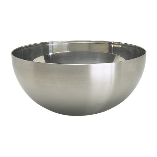 Ikea Blanda Blank Serving Bowl, 8'', Stainless Steel