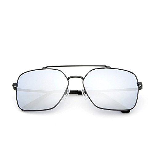 luz conducir de montura polarizadas completa al de sol Gafas es para adecuada La de sol gafas antivibratorias con libre aire Gafas antideslumbrante para conducir polarizadas gafas muje de para Silver sol y Eqwwa6x80