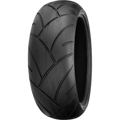 Shinko 005 Advance Rear Motorcycle Tire 180/55ZR-17 (73W) for Harley-Davidson Sportster XR1200 2009-2012