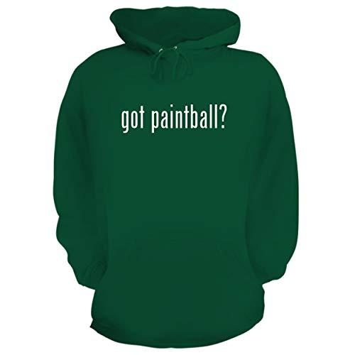 (BH Cool Designs got Paintball? - Graphic Hoodie Sweatshirt, Green, Large )