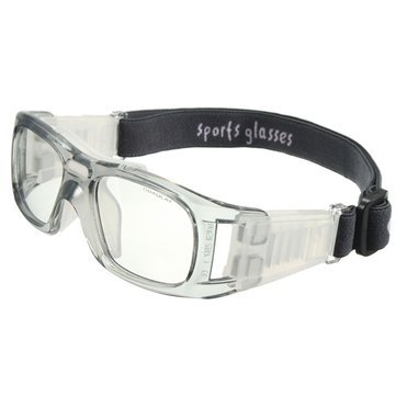 8b46ddeb83c Buy Generic Sports Basketball Glasses Cycling Football Protective Eyewear  Eyes Safety Goggles-Transparent Grey Online at Low Prices in India -  Amazon.in