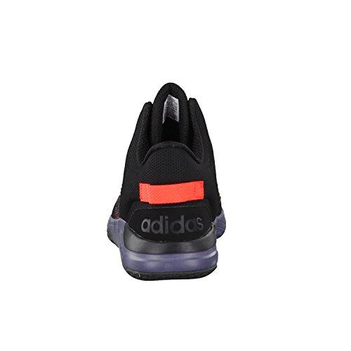 adidas Cloudfoam Revival Mid, Scarpe da Ginnastica Uomo, Nero (Negbas/Negbas/Rojsol), 40 EU