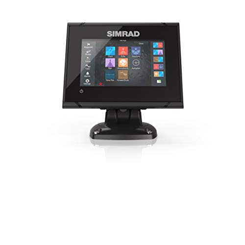 - Simrad GO5 XSE: 5-inch Fishfinder Navigation Display Active Imaging 3-in-1 Transducer C-MAP Pro Charts Installed.