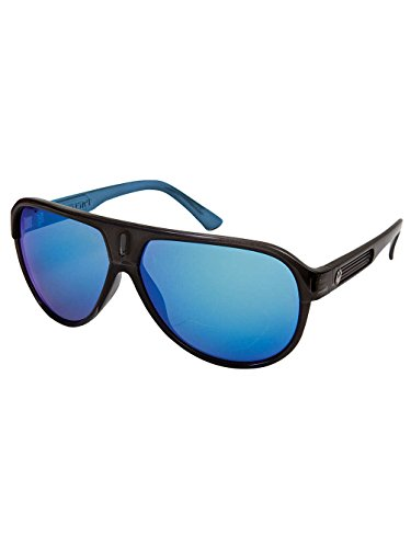 Dragon Experience 2 Sunglasses Jet Blue/Blue Ionized, One - Of Face Glasses Oval For Type