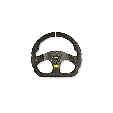 Omp OD/1990/NN SUPERQUADRO Steering Wheel Spokes Rim Black Suede, 38