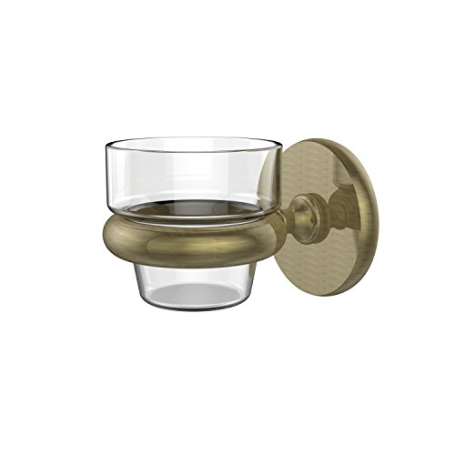 Allied Brass P1064-ABR Wall Mounted Votive Candle Holder, Antique Brass