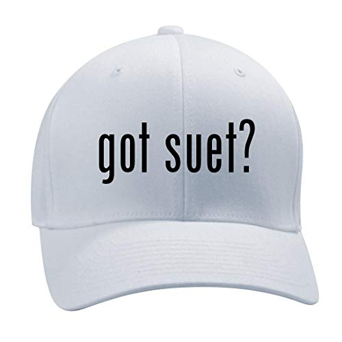 got Suet? - A Nice Men's Adult Baseball Hat Cap, White, Small/Medium