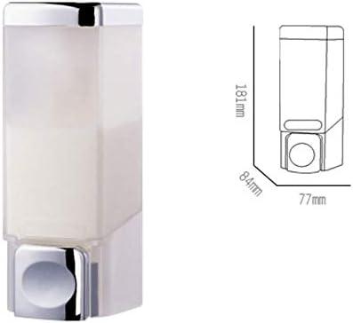 AQL ソープディスペンサー、より良い家庭用品、バスルームの石鹸とシャワー、液体石鹸、エッセンシャルオイルやローションのための理想的な、ホワイト