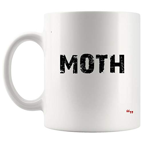 Gag Mug Coffee Cup - Moth Funny Halloween Costume Sarcastic Couple Joke Gag Hilarious Sarcastic Cups Coffee Mugs -