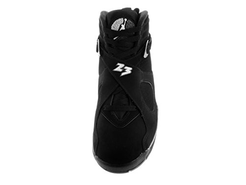 lt Black Air Grey Men Sneakers Jordan White Retro NIKE 8 s Black White Graphite BnFRwUq