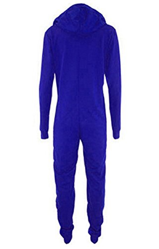 Koveinc Sleepsuit Pajamas Costume Cosplay Homewear Lounge Wear-Blue-XX-Large (Superman Adult Onesie)