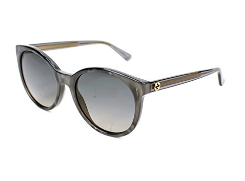 Gucci R4IDX Grey-bronze 3820S Round Sunglasses Lens Category 2 Lens - Mirrored Gucci Sunglasses