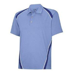 Adidas Golf ClimaCool® Pique Angular Taped Short Sleeve Polo Shirt - (Medium)