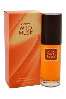 Coty Wild Musk By Coty For Women. Cologne Spray 1.5-Ounces Pack of 3