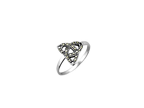 hallmarked-sterling-silver-trinity-knot-ring-wmarcasite-stones-presented-in-box
