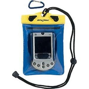 Floating Waterproof GPS/Smart Phone/PDA Case -5'' x 6'' w/Convenient Stylus Holder, Lanyard & Hook (Pda Gps Smartphone)