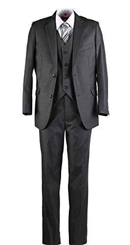 Kids Grey Suits - 3
