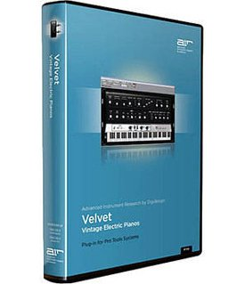 Digidesign Velvet Electric Piano Virtual Instrument For Pro Tools Model MID99104225612 by Digidesign