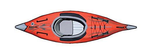Advanced Elements AE1012-R AdvancedFrame Kayak Unisex, per Adulti, colore: Rosso