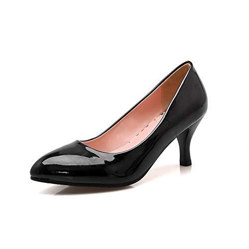 Compensées Sandales SDC05774 Femme AdeeSu Noir EBqU5x