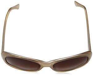 Cole Haan Women's Ch7006s Cateye Sunglasses, Milky Sand, 59 mm