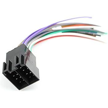 xtenzi car radio wire harness compatible with alpine cd dvd navigation  in-dash - xt1784