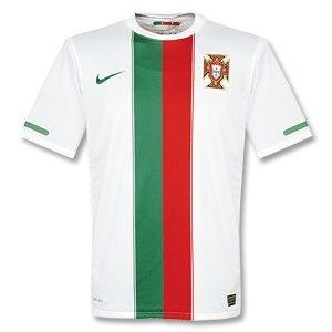 - 10-11 Portugal Away Jersey-L