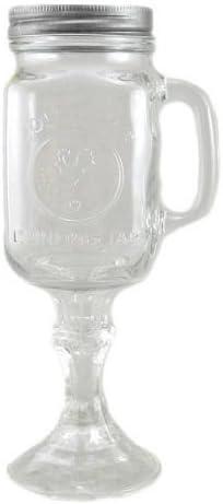 Amazon Com Redneck Beer Mug 16oz Handle Mason Jar Rednek Hillbilly Wine Glass Soda 2 Pack Wine Glasses Kitchen Dining