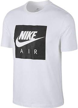 Desconocido Nike Sportswear Camiseta, Hombre, White, XL