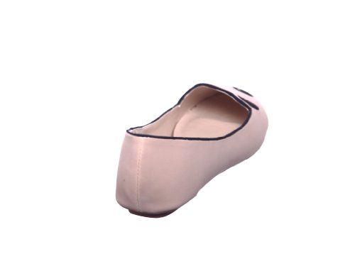 Shoewhatever Nouveau Style !! Chaussures Mocassins Mocassins Mocassins Pour Femme Nubuck Nude